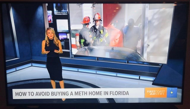 Transport - 5:35 FIRSTCOAST 4ONEWS HOW TO AVOID BUYING A METH HOME IN FLORIDA
