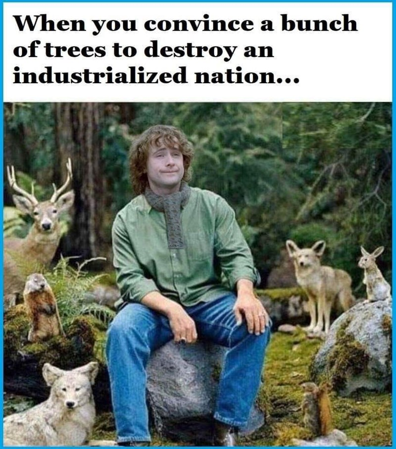 Wildlife - When you convince a bunch of trees to destroy an industrialized nation...