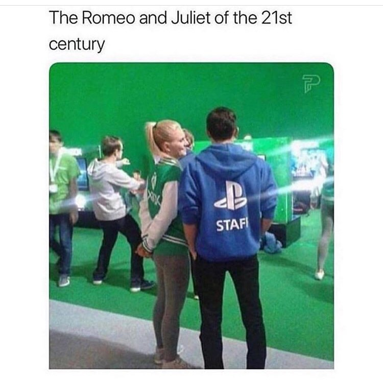 Text - The Romeo and Juliet of the 21st century STAF