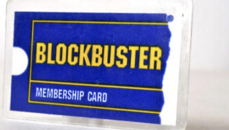 Label - BLOCKBUSTER MEMBERSHIP CARD