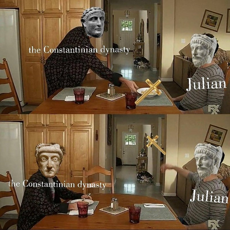 Art - the Constantinian dynasty- Julian the Constantinian dynasty Julian