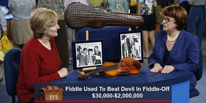 Musical instrument - Fiddle Used To Beat Devil In Fiddle-Off $30,000-$2,000,000 AR