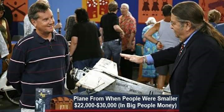 News - Plane From When People Were Smaller $22,000-$30,000 (In Big People Money) AR