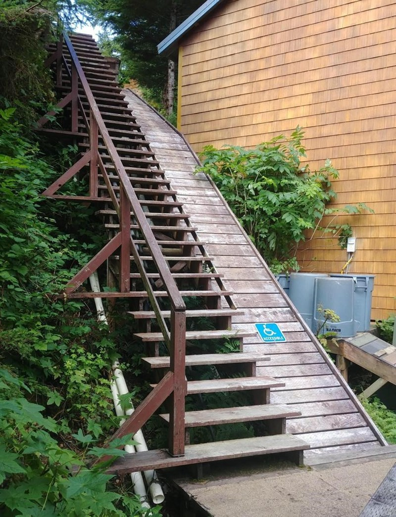 Stairs - ACCESSIBLE