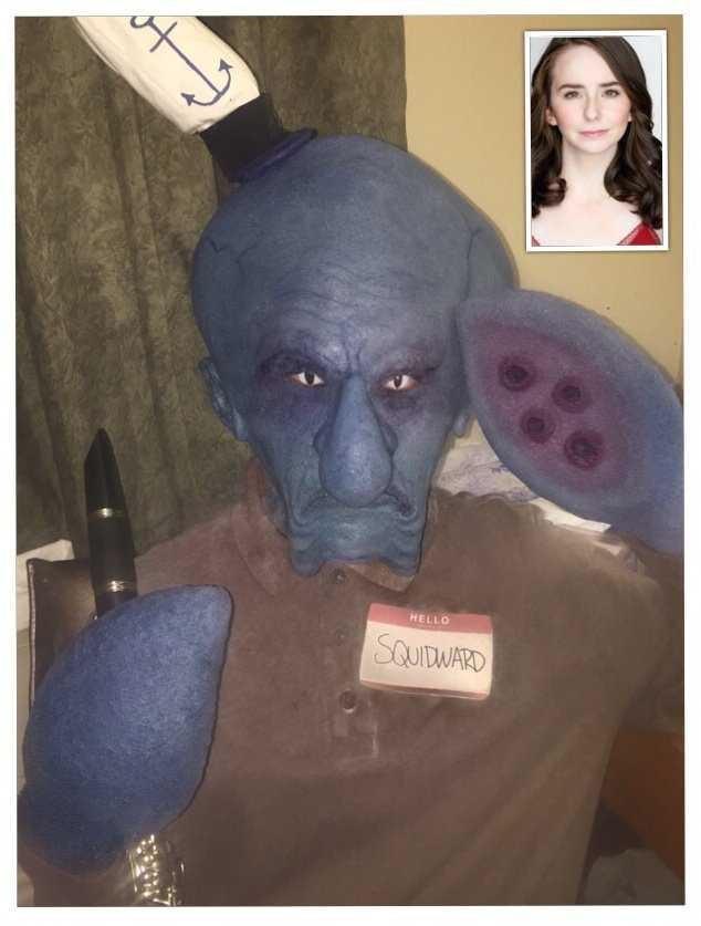 Face - HELLO SQUITDWARD