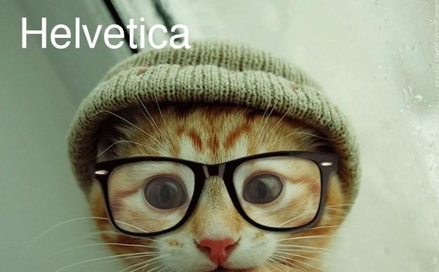 Cat - Helvetica