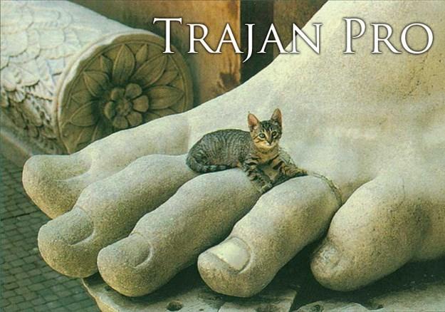 Cat - TRAJAN PRO