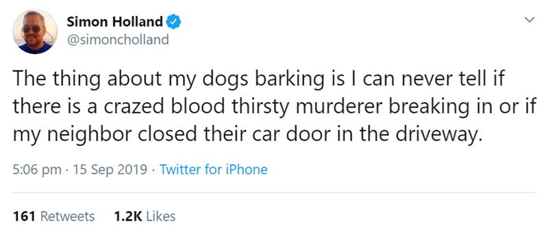 dog tweets - 9375630336
