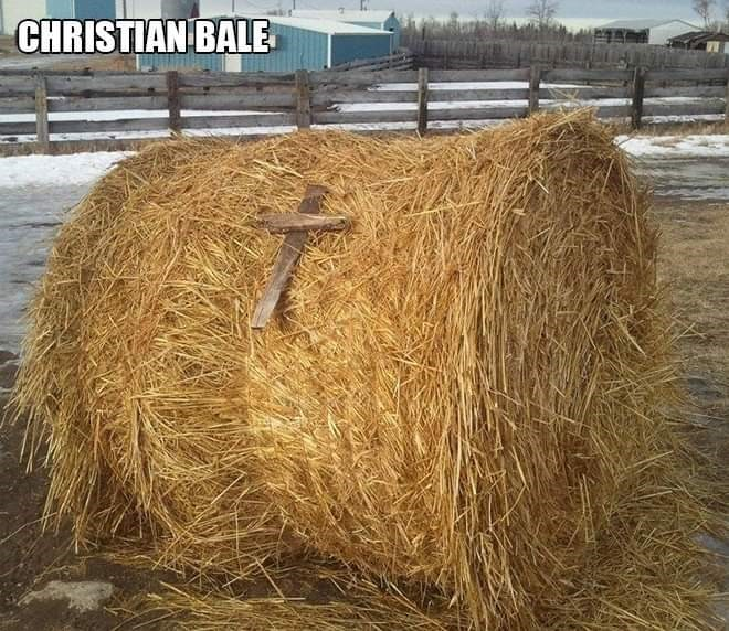 Hay - CHRISTIAN BALE