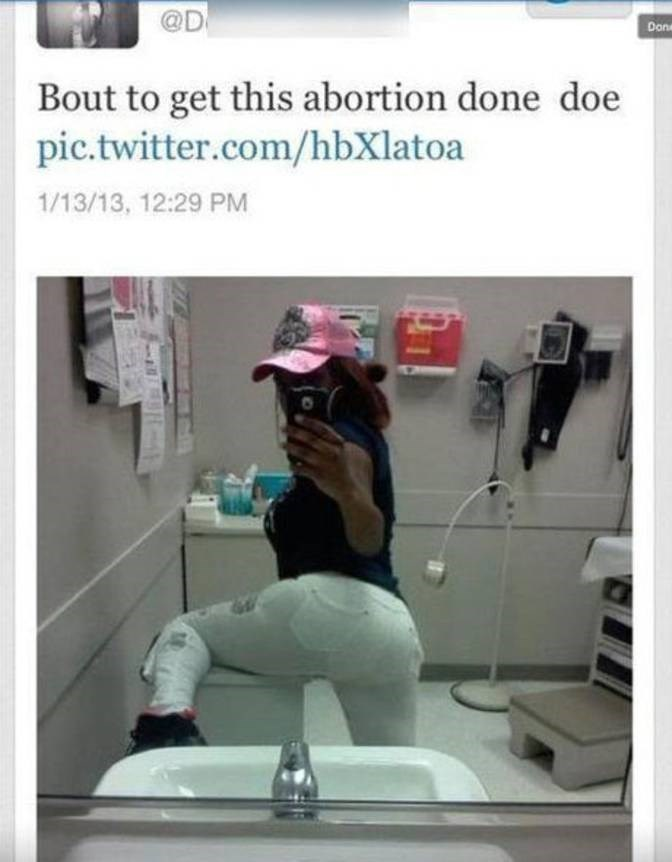 Photography - @D Done Bout to get this abortion done doe pic.twitter.com/hbXlatoa 1/13/13, 12:29 PM