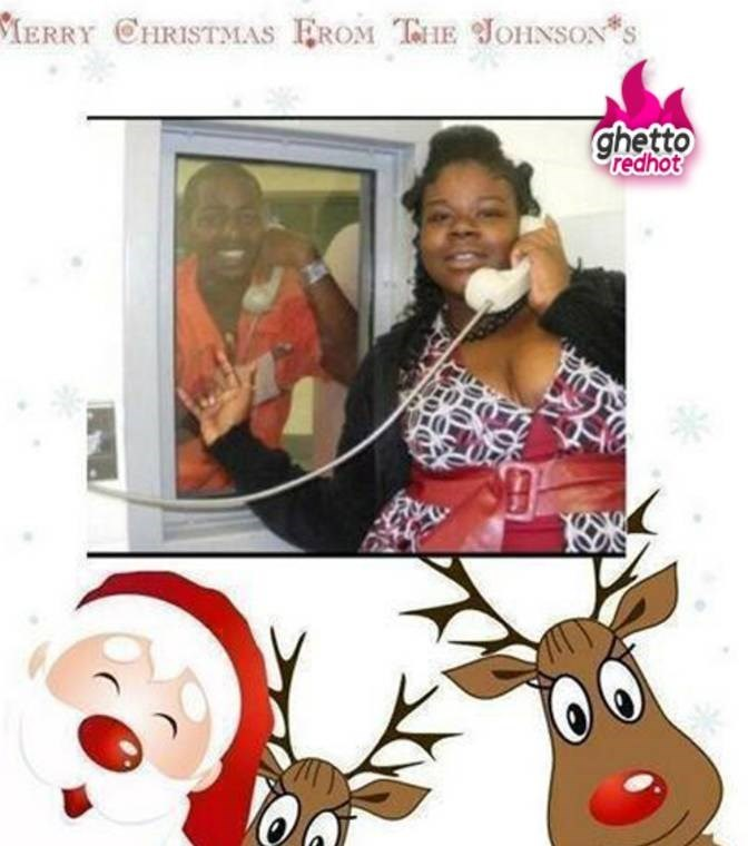 Photography - IERRY CHRISTMAS EROM TE JOHINSONS ghetto redhot