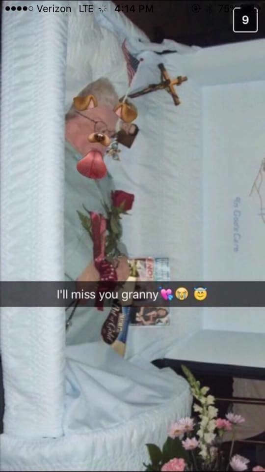 Room - o Verizon LTE 414 PM 75% 9 I'll miss you granny An Go Care