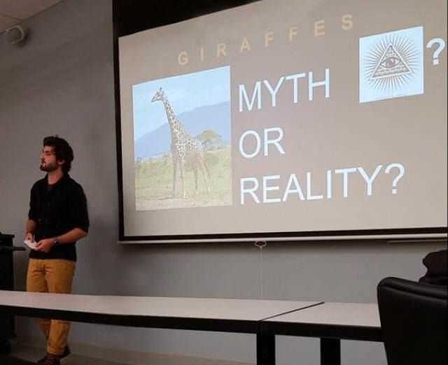 Presentation - GIRAFFES ΜΥΤΗ OR REALITY?