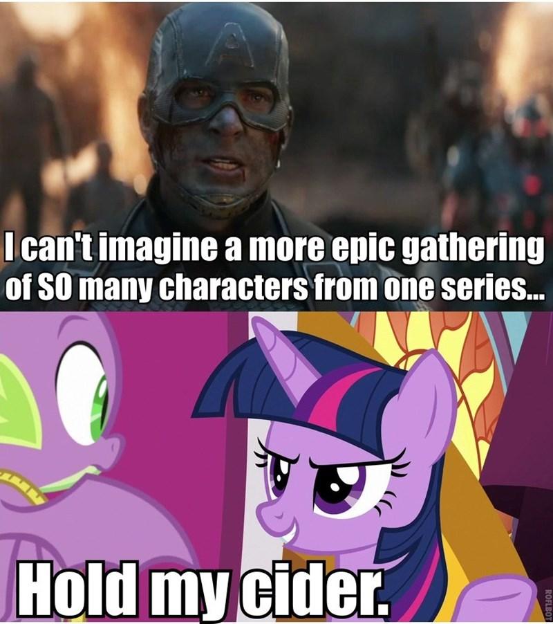 spike twilight sparkle screencap avengers endgame the ending of the end - 9375856128