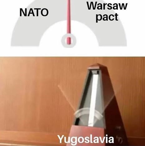 Lampshade - Warsaw NATO pact Yugoslavia