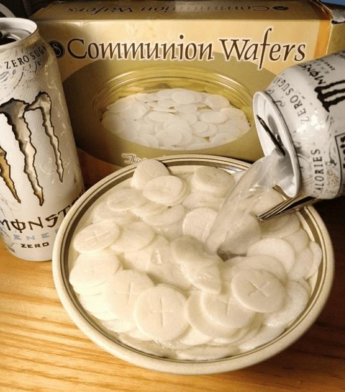 Food - 1100 ion w ZERO SUG рСоитииіои Wafers Thee NT ZERD ALORIES ERO SUG