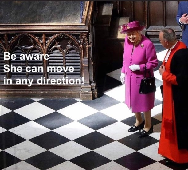 Games - Be aware She can mOve in any direction!