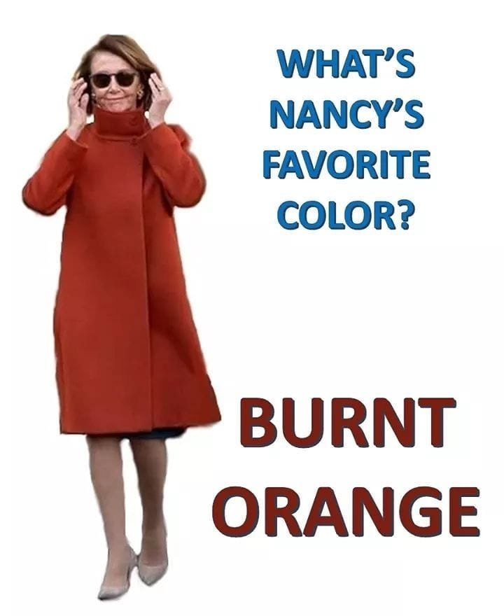 Clothing - WHAT'S NANCY'S FAVORITE COLOR? BURNT ORANGE
