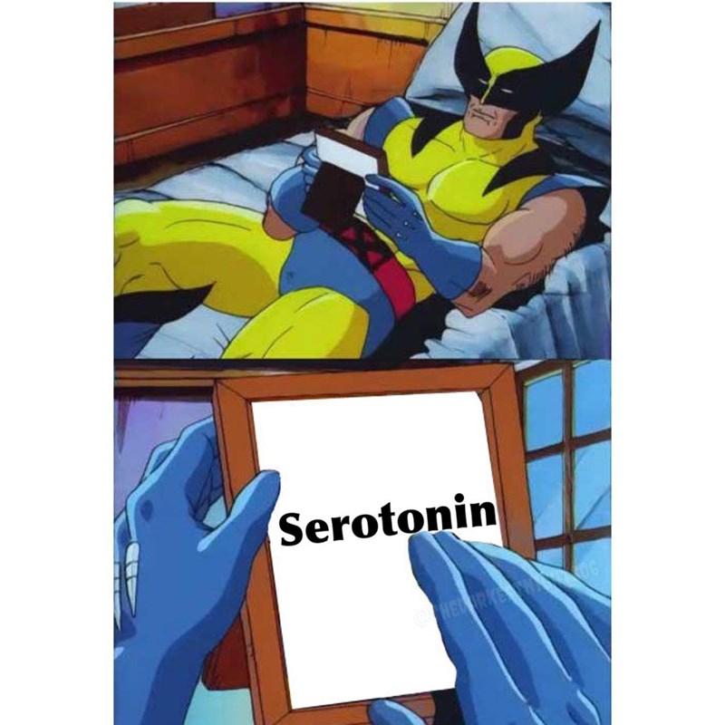 Cartoon - Serotonin HEL RKE 6