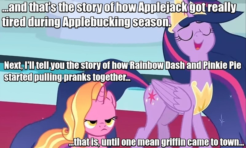 twilight sparkle screencap griffon the brush off applebuck season luster dawn the last problem - 9376507392