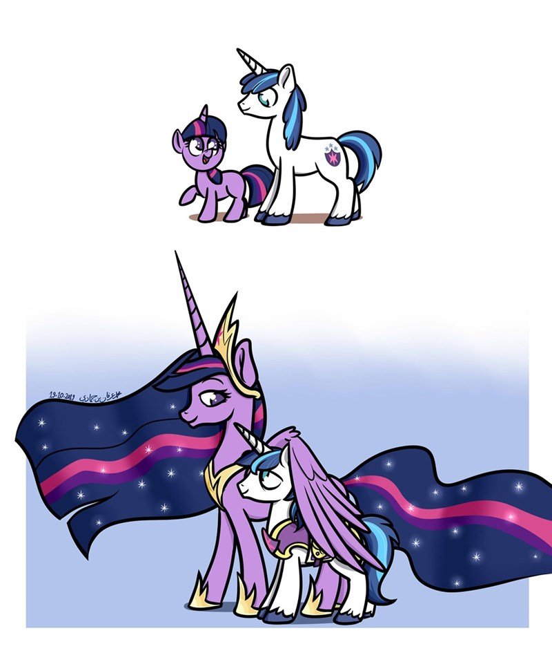 twilight sparkle shining armor poecillia-gracilis19 the last problem - 9376792832