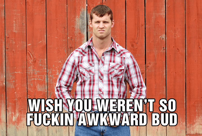 Plaid - WISH YOU WERENT SO FUCKIN AWKWARD BUD
