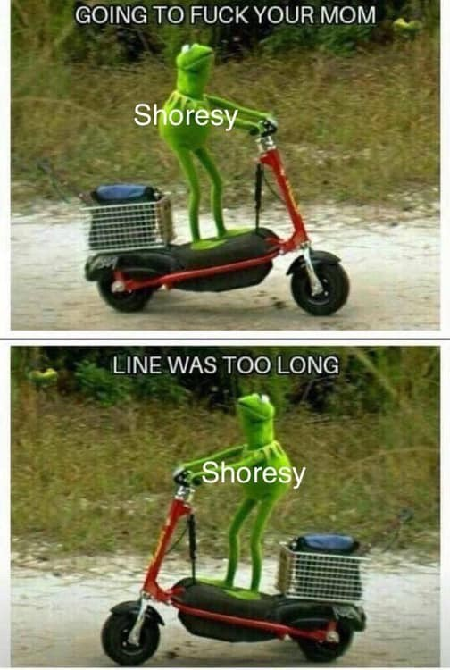 Vehicle - GOING TO FUCK YOUR MOM Shoresy LINE WAS TOO LONG Shoresy