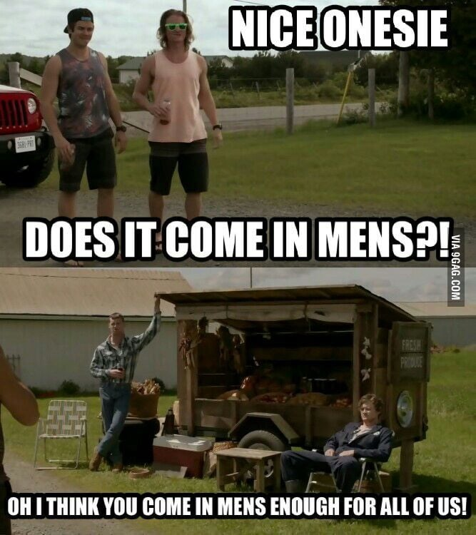 Vehicle - NICE ONESIE 3681 DOES IT COME IN MENS?! FRESH PRIDUGE OHITHINK YOU COME IN MENS ENOUGH FOR ALL OF US! VIA 9GAG.COM