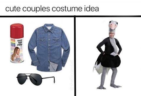 Clothing - cute couples costume idea JP