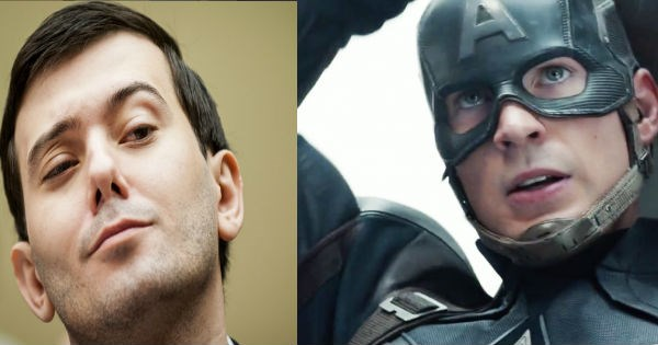 Chris Evans Sent Martin Shkreli into an Absolute Twitter Ragefest with One Tweet