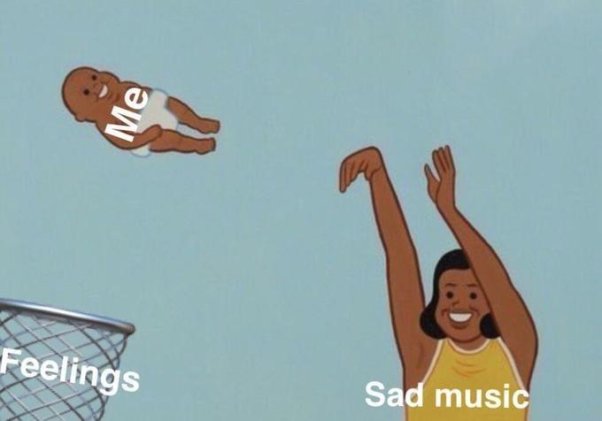 Basketball - Feelings Sad music Me