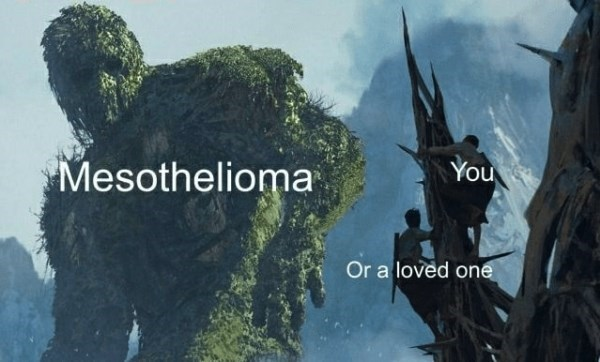 Poster - You Mesothelioma Or a loved one