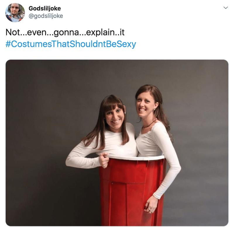 Product - Godsliljoke @godsliljoke Not...even...gonna...explain..it #CostumesThatShouldntBeSexy