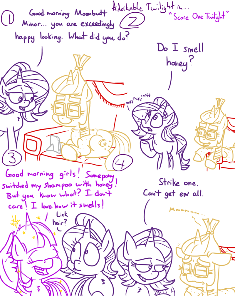 moon dancer starlight glimmer twilight sparkle adorkable twilight and friends - 9377526016