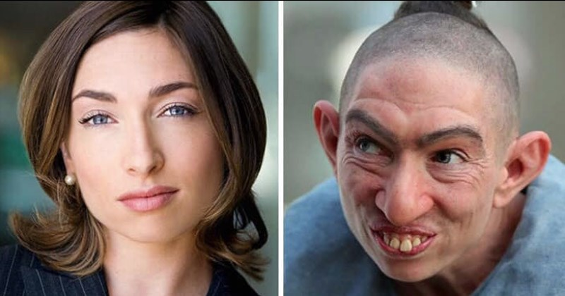 Photos of Hollywood actors before and after makeup