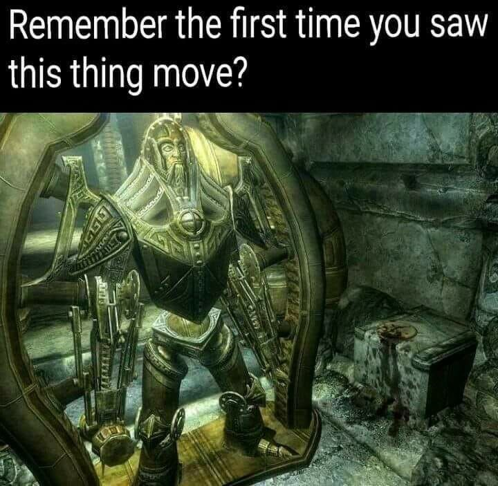 Adventure game - Remember the first time you saw this thing move?