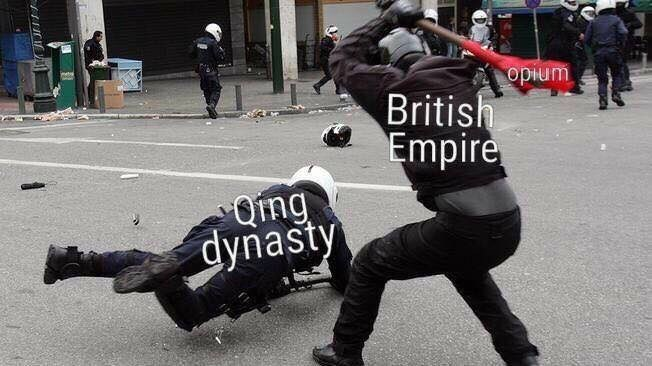 Person - Event - opium British Empire Ong dynasty