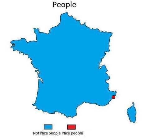 Map - People Not Nice people Nice people