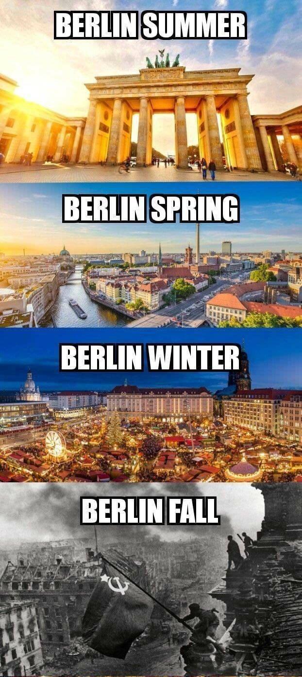 Landmark - BERLIN SUMMER BERLIN SPRING BERLIN WINTER BERLIN FALL