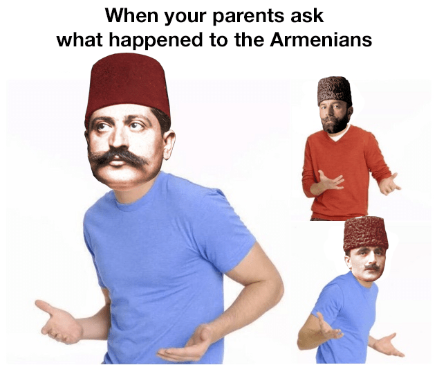 Font - When your parents ask what happened to the Armenians