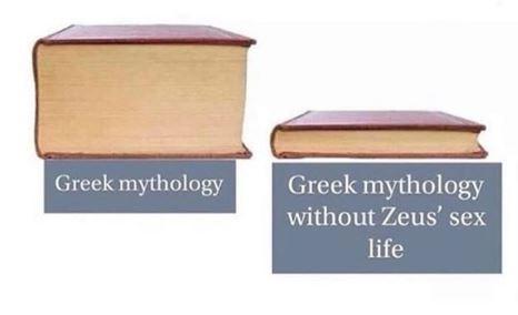 Product - Greek mythology Greek mythology without Zeus' sex life