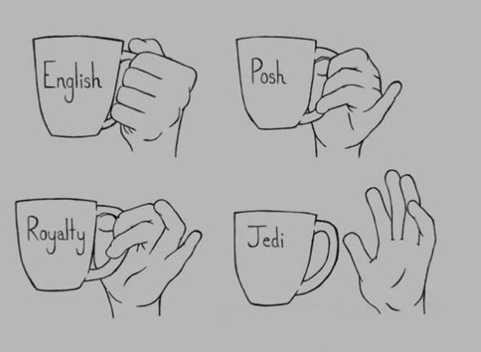 Text - Posh English Rayalty Jedi