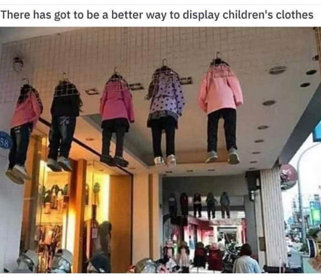 Community - There has got to be a better way to display children's clothes 58