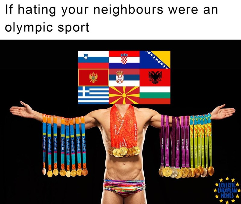 Abdomen - If hating your neighbours were an olympic sport ECLECTIC EUROPEAN HEMES