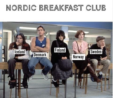 Product - NORDIC BREAKFAST CLUB Finland Iceland Sweden Denmark Norway