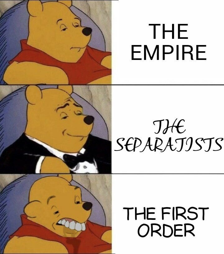 Cartoon - THE EMPIRE TЖ SEPARATISTS THE FIRST ORDER