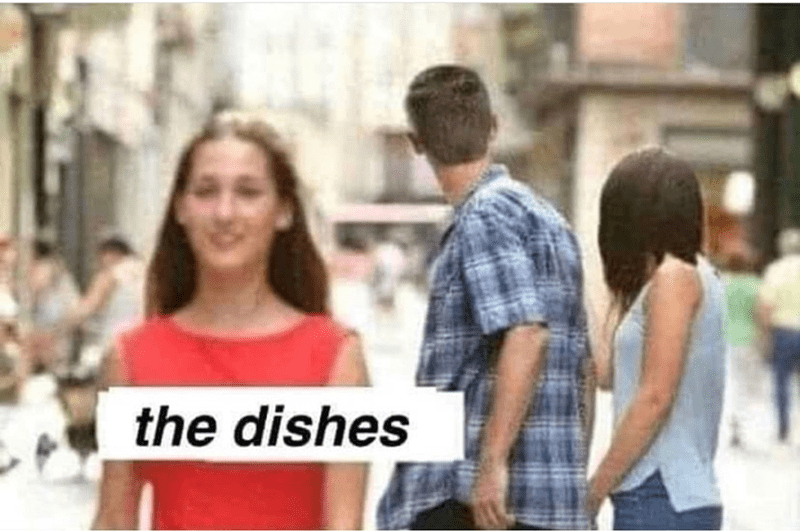 People - the dishes