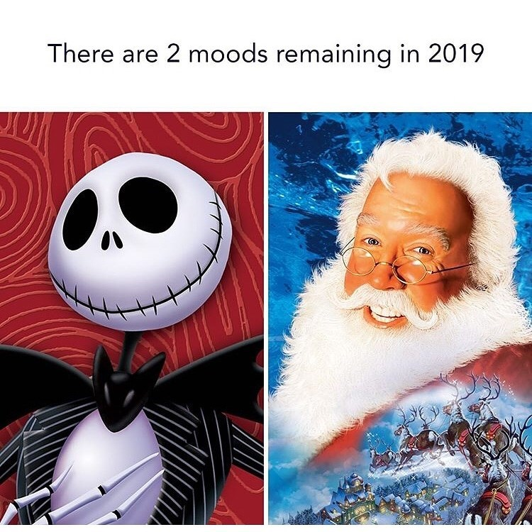 Organism - There are 2 moods remaining in 2019