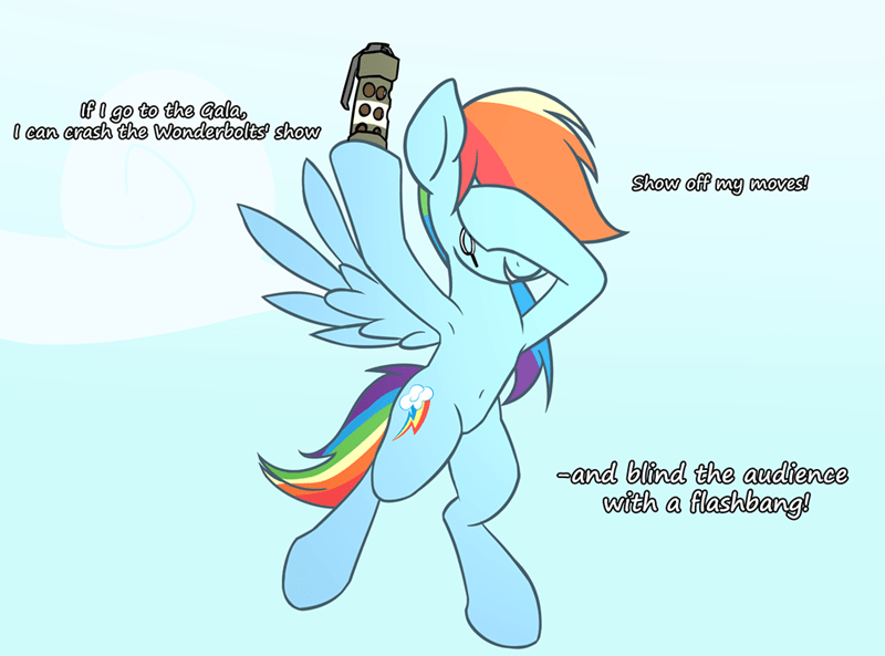 the ticket master wenni rainbow dash - 9380235264
