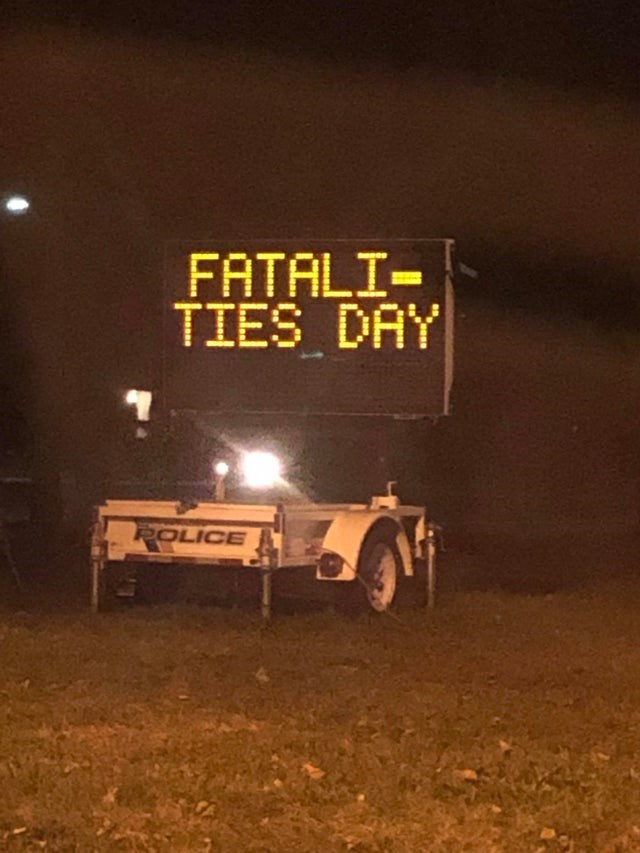 Vehicle - FATALI- TIES DAY POLICE
